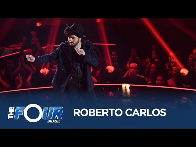 Victor Filgueira canta Negro Gato, de Roberto Carlos, em batalha do The Four Brasil