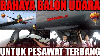 COCKPIT VIEW - BAHAYA BALON UDARA
