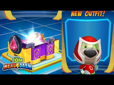 Super Ben New Outfit | Ultra Box Opening - Talking Tom Hero Dash