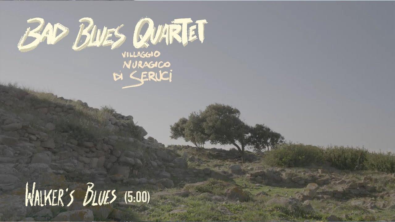"Sardinia Plays The Blues: Bad Blues Quartet - ""Walker's Blues"" @ Nuraghe di Seruci"