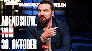 ABENDSHOW. vom 30.10.2020