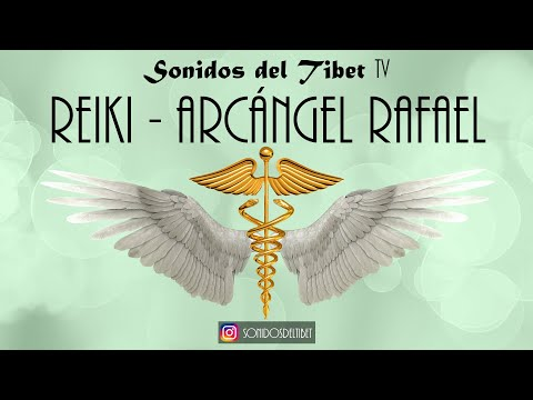 Reiki Music - Archangel Raphael - Healing - With Bell Timer every 3 Minutes
