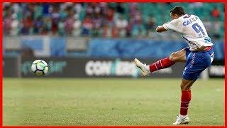 Bahia 1 X 0 América (MG). Gol de Gilberto (11/8/2018)