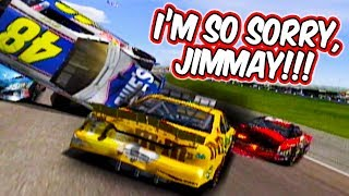Driving into Oncoming Traffic at ALL 23 Tracks in NASCAR Thunder 2003