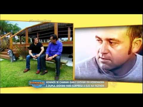 Giovani recebe Geraldo Luís e faz revelações da infância e da briga com Gian