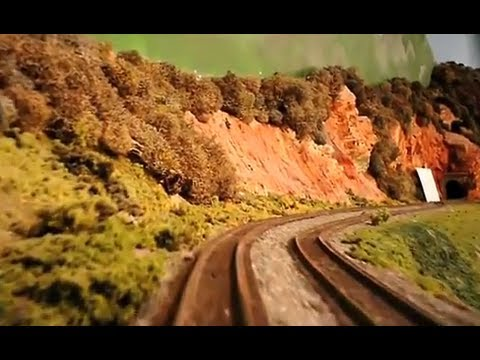 AWESOME Model Train Ride part 1