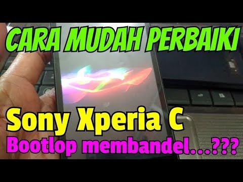 Solusi Sony Xperia C 2305 bootlop membandel