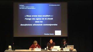 M. Steinle - L'usage des signes de la Shoah ans les docufictions allemands - 2010-12