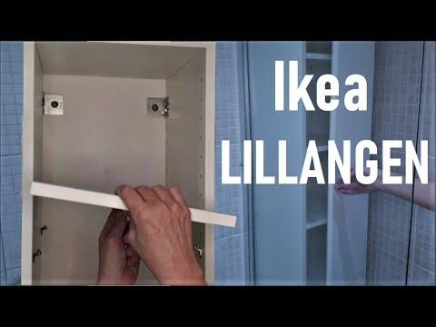 Lillangen Ikea Bathroom Cabinet Assembly