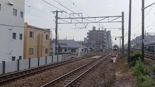 [JR西日本 山陽本線]  223系 快速米原行  塩屋駅通過