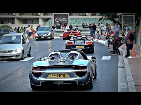 Supercars are everywhere in Monaco!