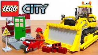 レゴ シティ パワフルブルドーザー 60074 はたらくくるま 重機車両 コマ撮り ブロック遊び LEGO CITY 乐高玩具 레고