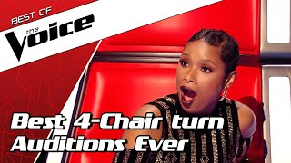 Top 10 | Best All Turn Blind Auditions In The Voic