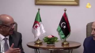 تقرير / المشير حفتر  يصل الجزائر في زيارة رسمية