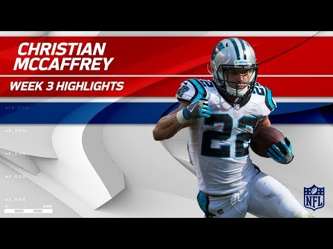 Christian McCaffrey's 9 Catches & 101 Yards! | Saints vs. Panthers | Wk 3 Player Highlights