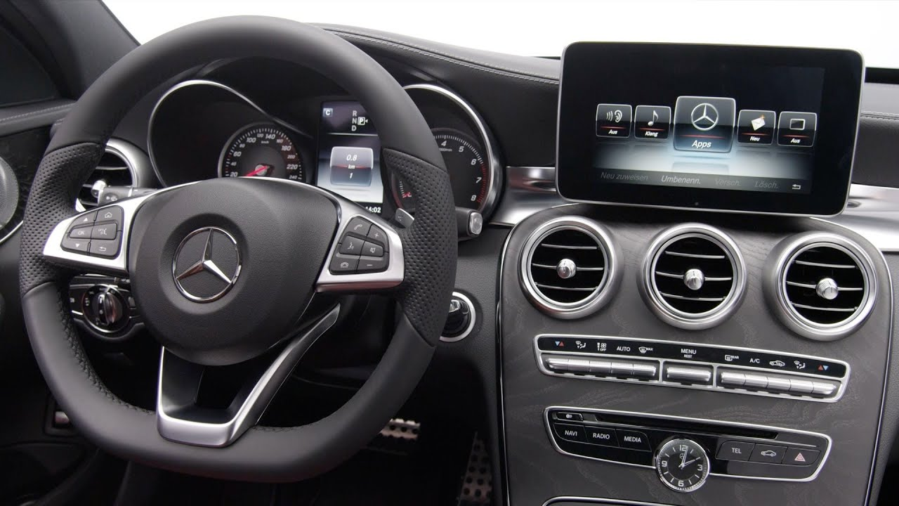 Mercedes C-Class (2014) INTERIOR - YouTube