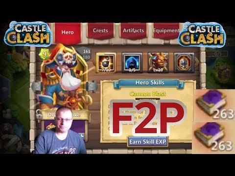 Castle Clash Evolving Dread Drake TerryZ F2P Account