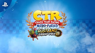 Crash Team Racing Nitro-Fueled | العرض التجريبي لـ Rustland Grand Prix | ‏PS4