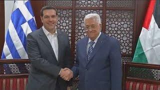 Υπέρ της ίδρυσης παλαιστινιακού κράτους στα σύνορα του '67, ο Αλέξης Τσίπρας