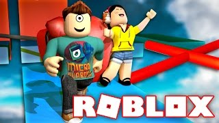 ROBLOX WIPEOUT OBBY w/ Dollastic!