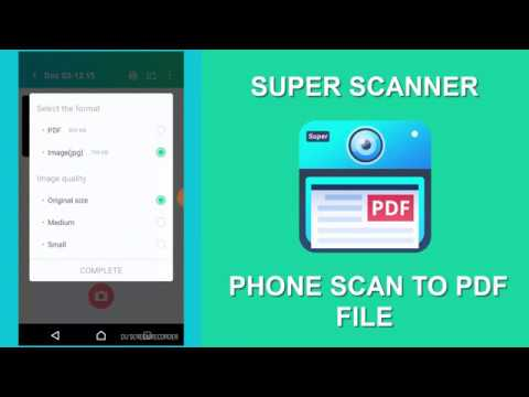 Super Scanner : Phone scan to PDF - Android Apps in Hindi