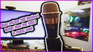 Blue enCore 200 Active Dynamic mic review: Better tan the Shure SM57?!
