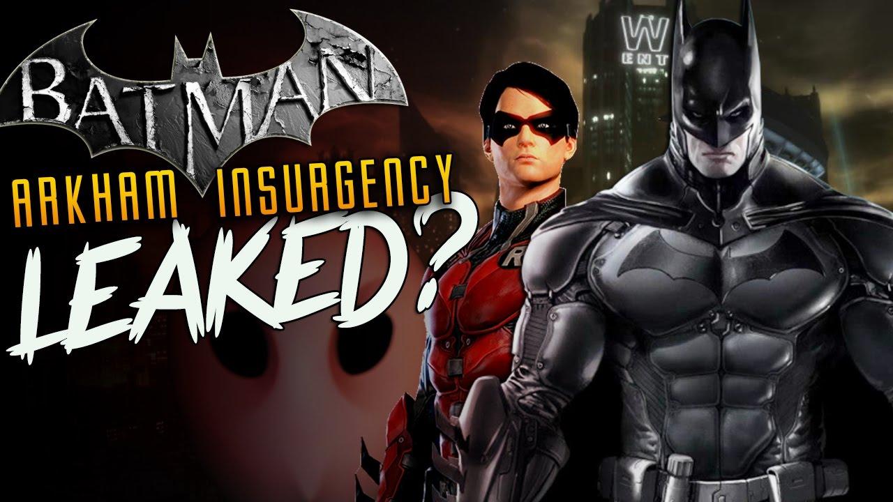 Batman Arkham Insurgency LEAKED? NEW Batman Game Court of ...