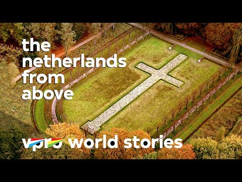 Death rituals of the Dutch - The Netherlands from above