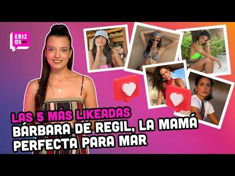 Bárbara de Regil y su ejemplo de maternidad con su hija Mar | Las 5 más likeadas