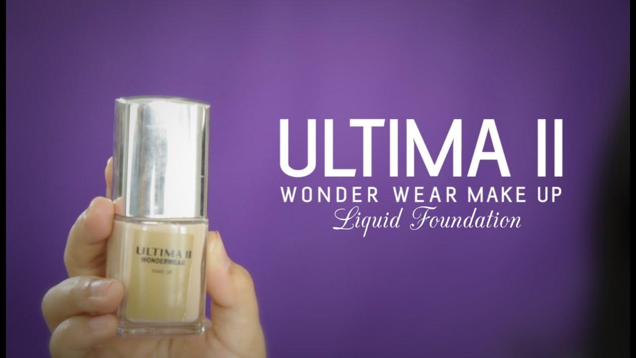 Liquid foundation ultima