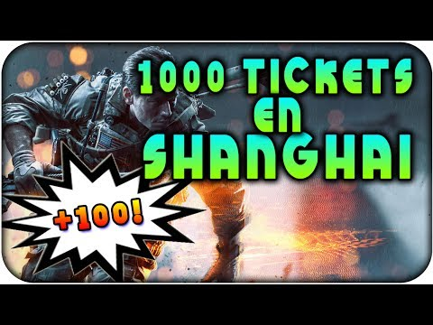 1000 TICKETS en Shanghai +100 Bajas !!!