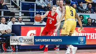 Highlights: Utah men's basketball finishes with first-ever road sweep in the Bay with win over Cal