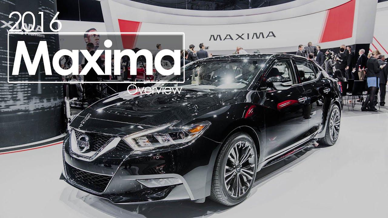 2016 Nissan Maxima | 2015 New York International Auto Show   YouTube