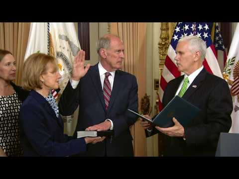 Dan Coats Sworn in as National Intelligence Director