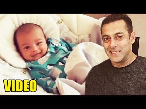 Salman Khan's Nephew Ahil's CUTE Smiling Video Mp3