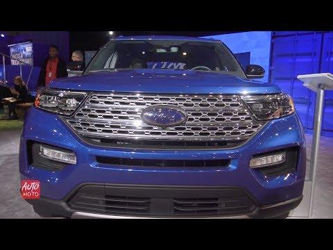2020 Ford Explorer Hybrid - Exterior And Interior Walkaround - 2019 Toronto Auto Show