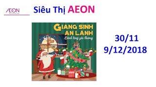 Khuyến Mãi - Siêu thị AEON - Từ 30/11 đến 9/12/2018