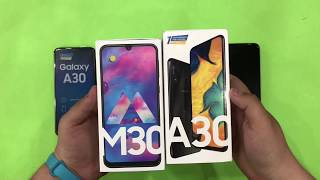 Samsung Galaxy A30 vs Samsung Galaxy M30