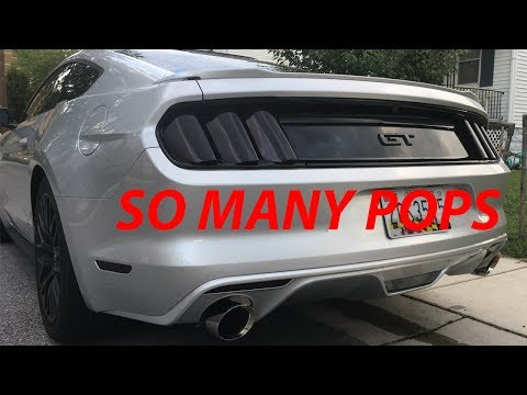 Repeat 16 mustang gt kooks headers corsa extreme by Popo