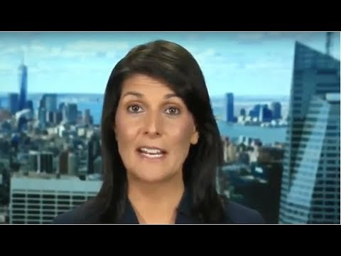 """RIGHT AFTER TRUMP NAMED KIM """"ROCKET MAN"""" NIKKI HALEY WENT AND SILENCED THE MEDIA WITH HUGE REVEAL!"""