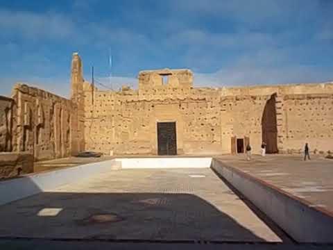 Morocco  Marruecos  Marrakesh  Palais el Badi  Palace  Palcio  2018