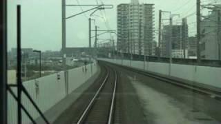 仙台空港アクセス線 【前面展望 2】 長町⇒太子堂 thumbnail