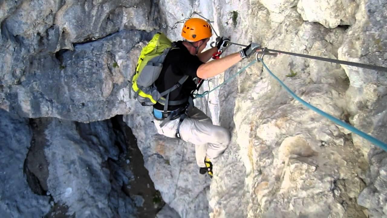 Klettersteig Magnifici Quattro : I magnifici quattro.mov youtube