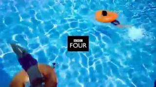 BBC FOUR - Swimming Pool and Seagulls Idents - Tuesday 7th October 2014