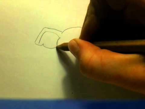 Elefant zeichnen lernen - so geht's - YouTube