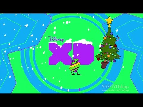 Disney XD HD UK Christmas Continuity and Idents 2017