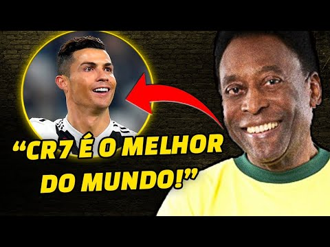 """Pelé, polémico contra Messi: """"Cristiano Ronaldo es el mejor del mundo"""" - El  Intransigente"""