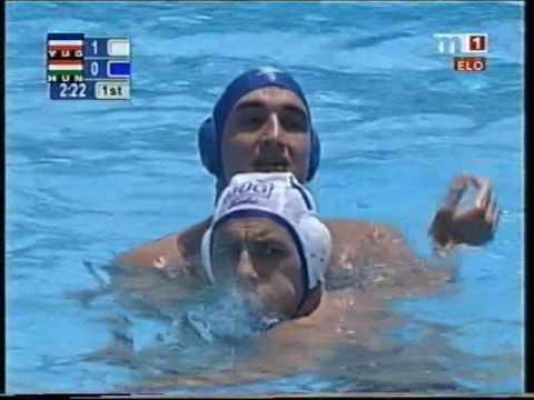 July 25, 2001, Japan, Water Polo World Championship, Yugoslavia - Hungary