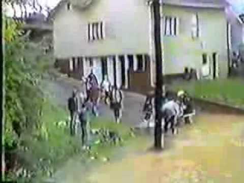 "1985 Flood In Clarksburg, West Virginia, First Street ""Part2"", View From Rt 50"