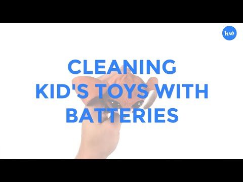 How To Clean Toys With Batteries